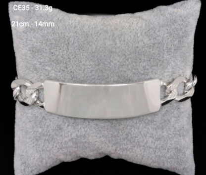 esclava de plata gruesa